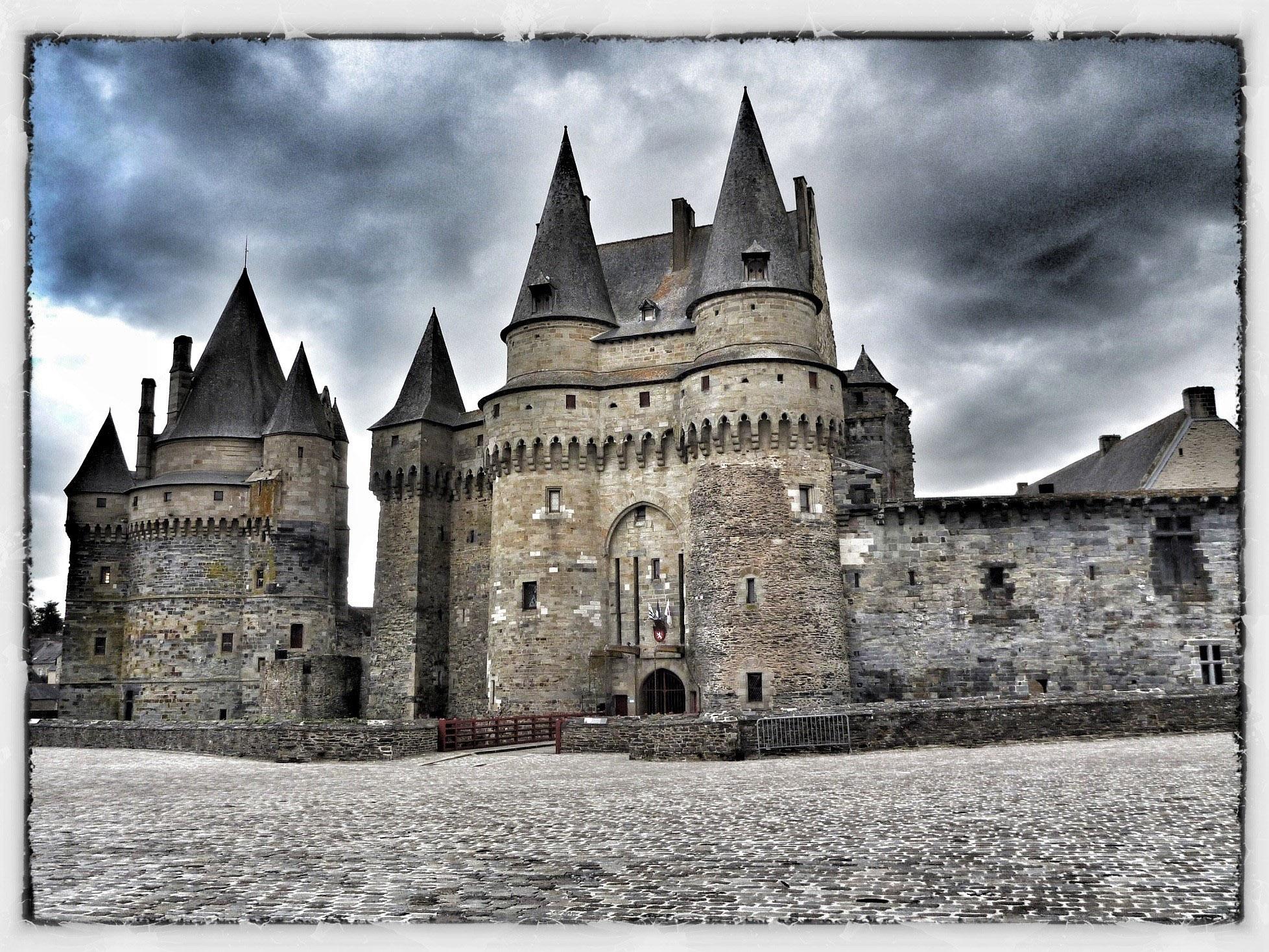 Zamek w Vitre