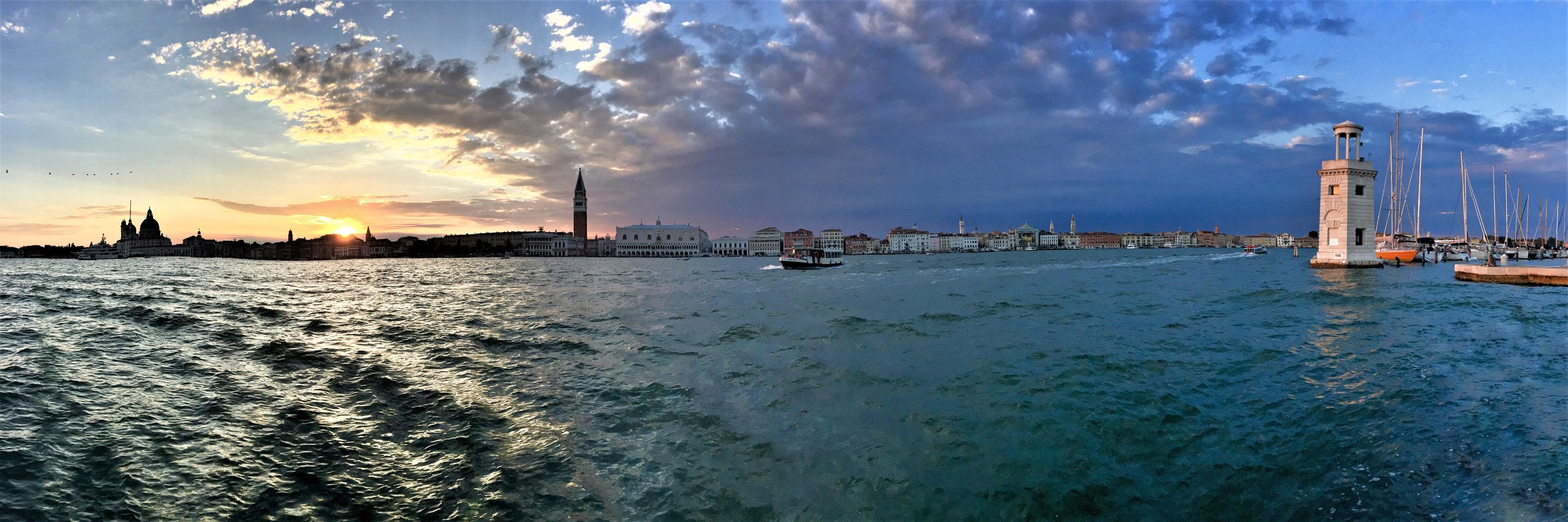 Panorama Wenecji z wyspy San Giorgio Maggiore